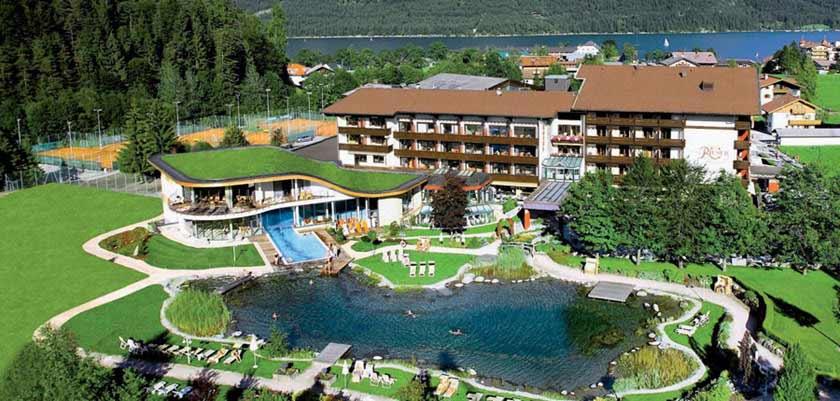 Hotel Rieser, Pertisau, Lake Achensee, Austria - Exterior with outdoor pool.jpg